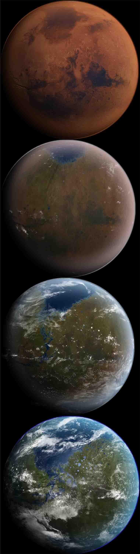 Mars being Terraformed