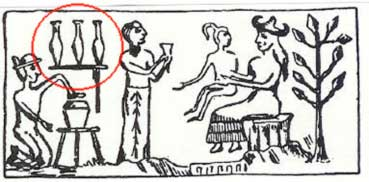 Sumerian Drawing of our Creation Story