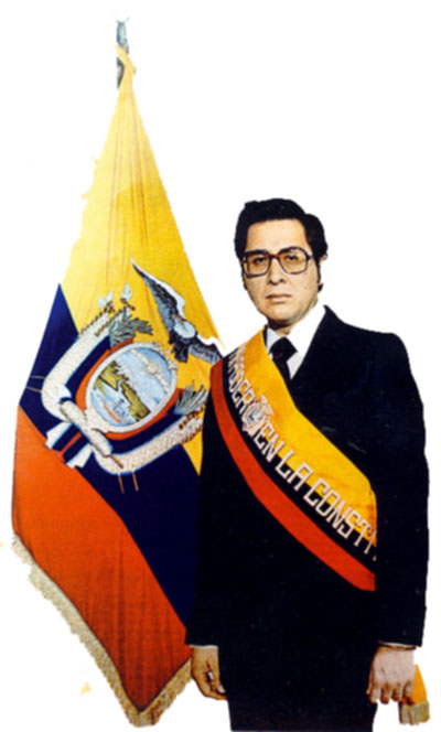 Jaime Roldos Aguilera (President of Ecuador): assassinated on May 24, 1981
