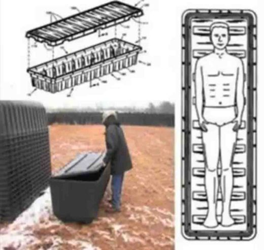 Debunked: ebola coffins stockpiled in field metabunk