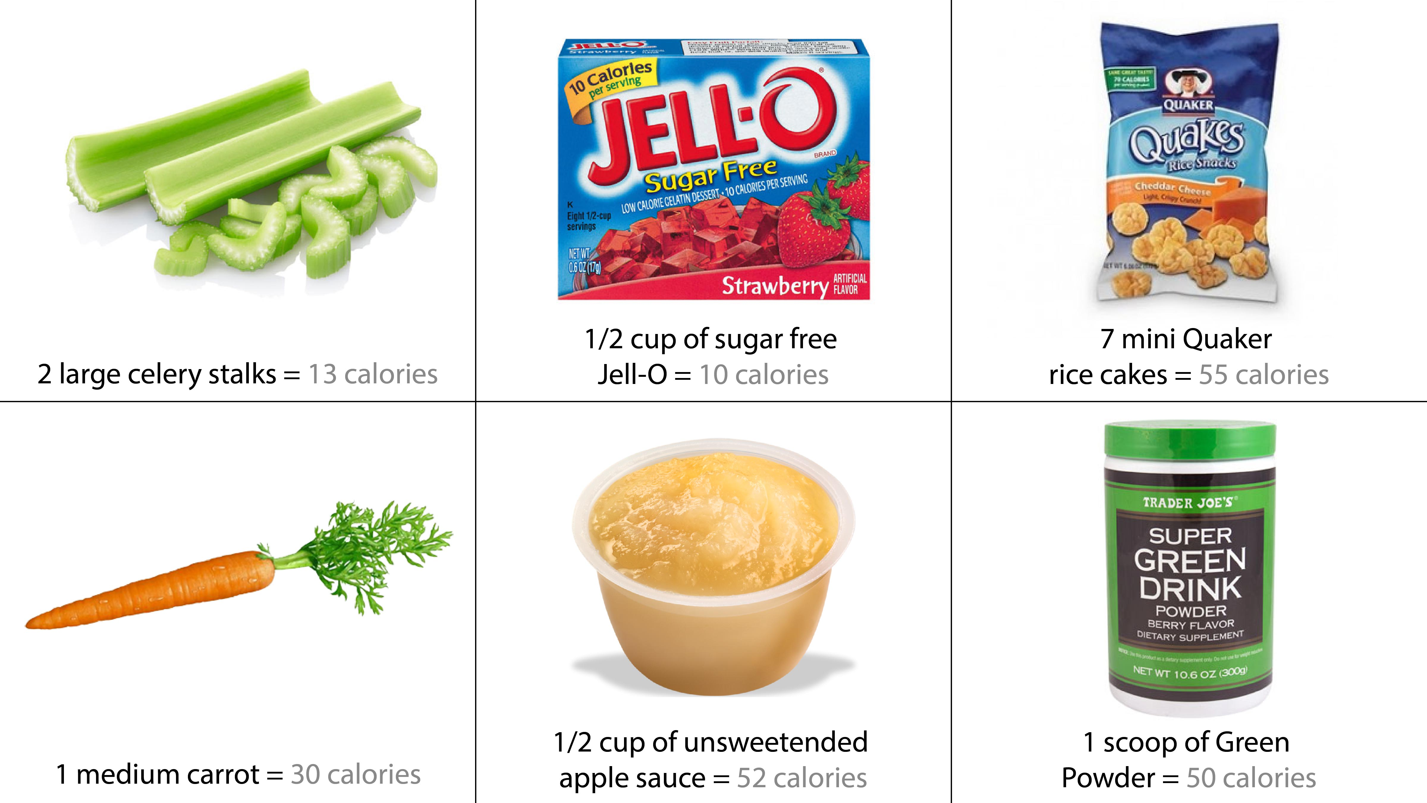 Zero calorie foods for Cuisine 0 calorie