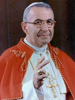 Pope John Paul I: presumably poisoned on September 28, 1978