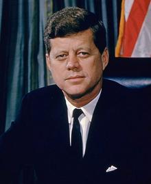 John Fitzgerald Kennedy: assassinated on November 22, 1963